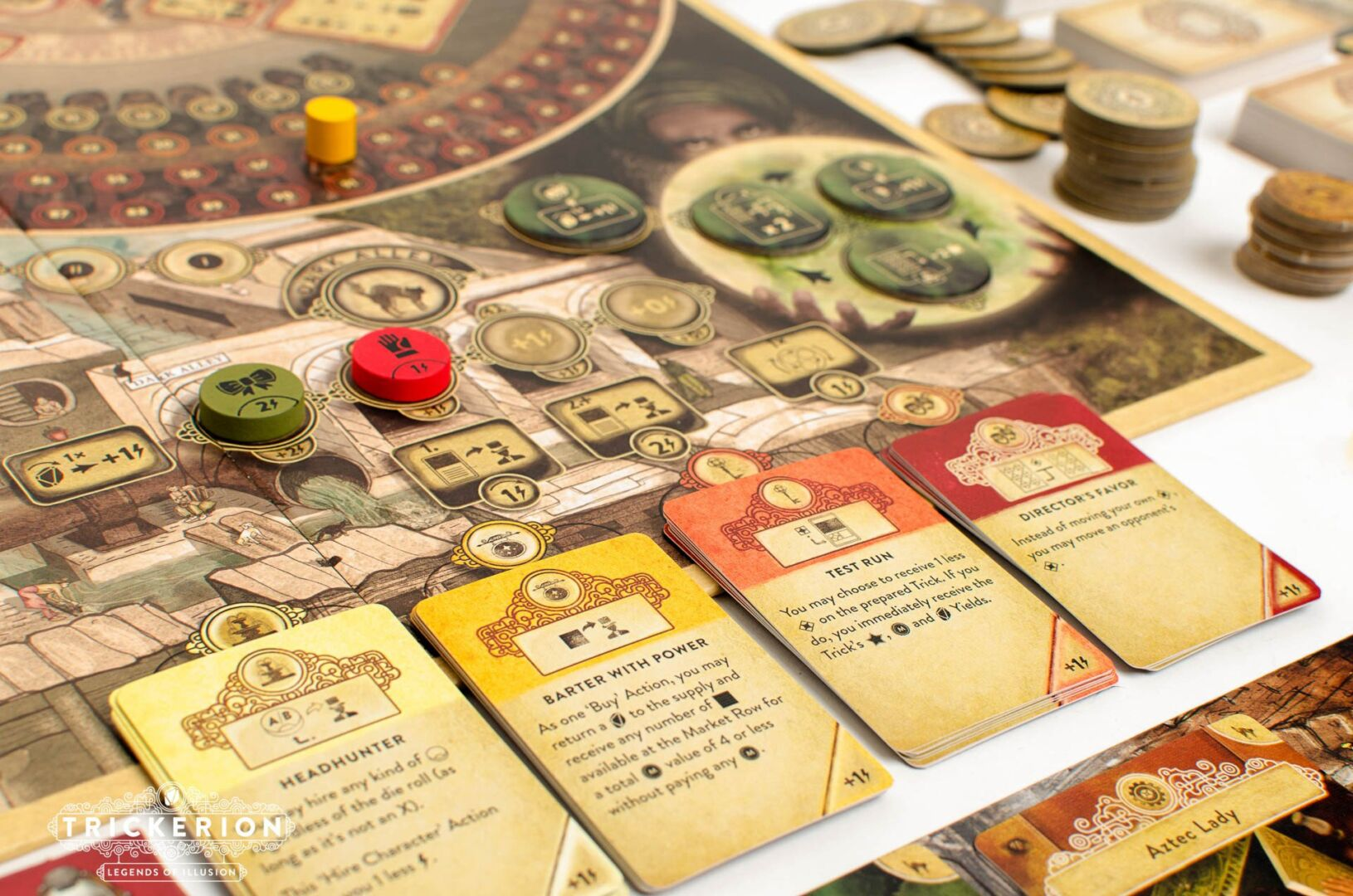 Trickerion products now available in US, CAN and EU