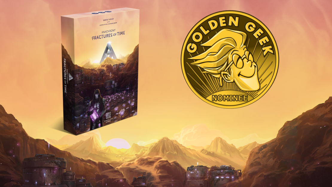 Fractures of Time nominated for Golden Geek Award
